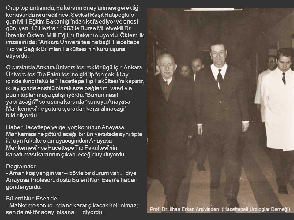 """Başbakan, Ergun'a bir gün önce profesörlerin gelip, fakültenin ikiye bölünmesini istemediklerini söyleyince; Ergun da, """"projede mevcut fakülteye dokun"""