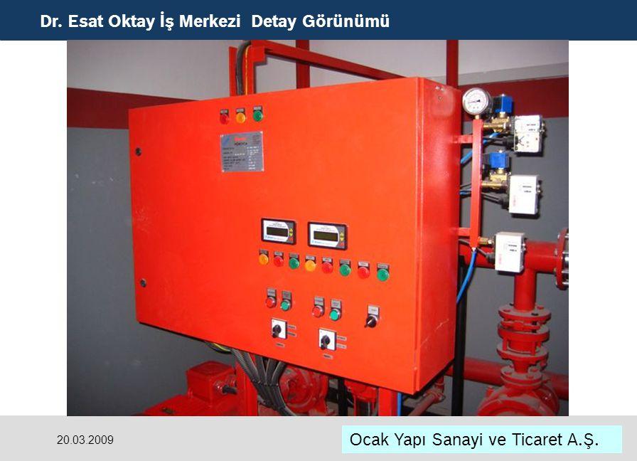 Dr. Esat Oktay İş Merkezi Detay Görünümü Ocak Yapı Sanayi ve Ticaret A.Ş. 20.03.2009