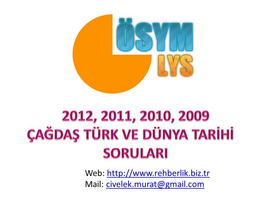 Web: http://www.rehberlik.biz.trhttp://www.rehberlik.biz.tr Mail: civelek.murat@gmail.comcivelek.murat@gmail.com