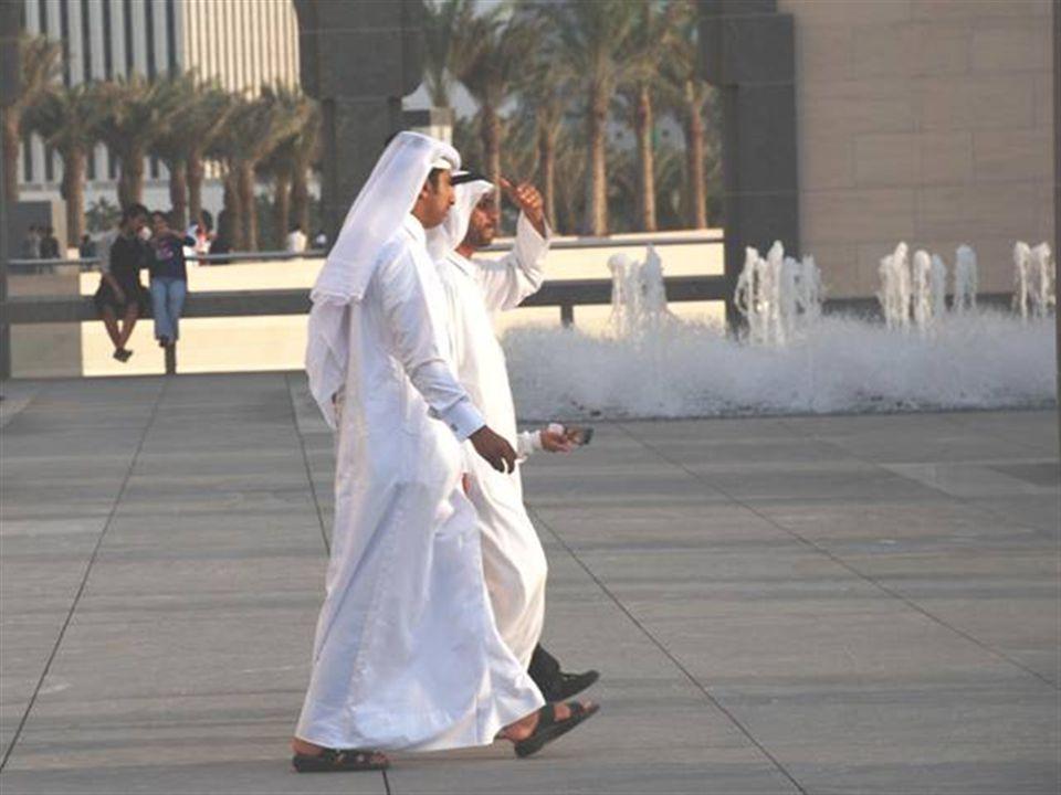 Kale ve insan manzaraları Doha - Qatar