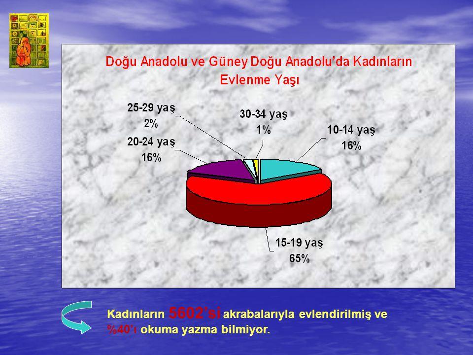 KADINA YÖNELİK ŞİDDET ŞİDDETİ HAKLI BULANLAR Türkiye Nüfus ve Sağlık Araştırması na göre ise; 15–19 yaş grubundaki kadınların yüzde 63 ü, 15–49 yaş grubundaki kadınların yüzde 39 u, 45–49 yaş grubundakilerin yüzde 39 u cinsel ve ekonomik nedenlerle kocasının kendisini dövmesini haklı buluyor.