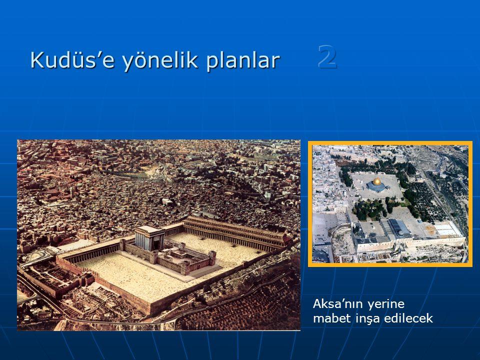 Aksa'nın yerine mabet inşa edilecek