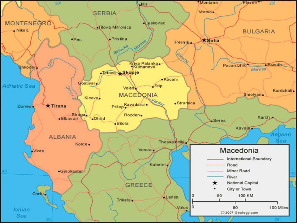 MAKEDONYA'da YAŞAM Makedonya Cumhuriyeti, genç bir ülke olmasına rağmen AB aday ülkesidir.AB ön müzakerelerini tamamlamıştır.