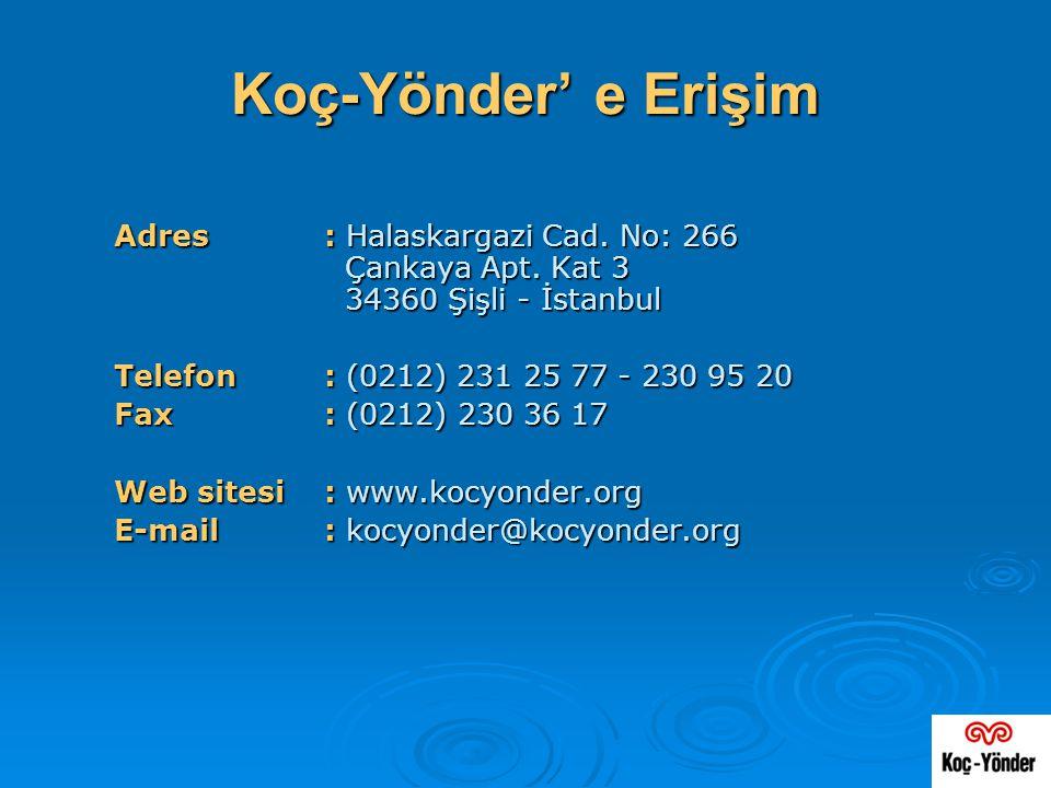 Adres: Halaskargazi Cad. No: 266 Çankaya Apt. Kat 3 34360 Şişli - İstanbul Telefon: (0212) 231 25 77 - 230 95 20 Fax: (0212) 230 36 17 Web sitesi: www