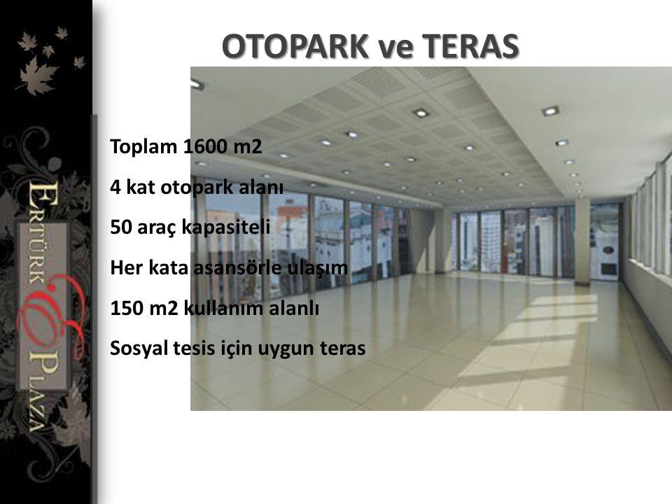 OFİS KATLARI 7 Ofis Katı Her kat 190 m2 olmak üzere Toplam 1330 m2 brüt ofis alanı Her kata ulaşan 2 adet Kone asansör Her katta Bay / Bayan WC Her ka