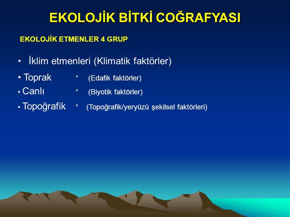 EKOLOJİK B.COĞR.