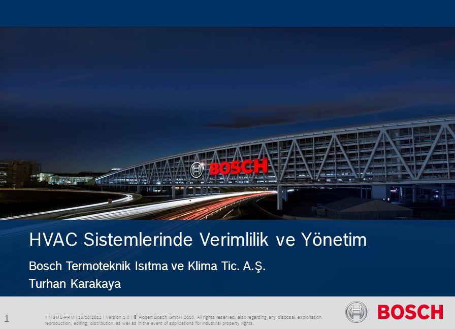 TT/SME-PRM | 10/16/2012 | © Robert Bosch GmbH 2012.