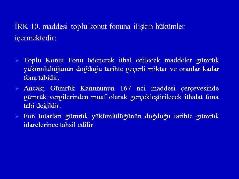 İRK 10.
