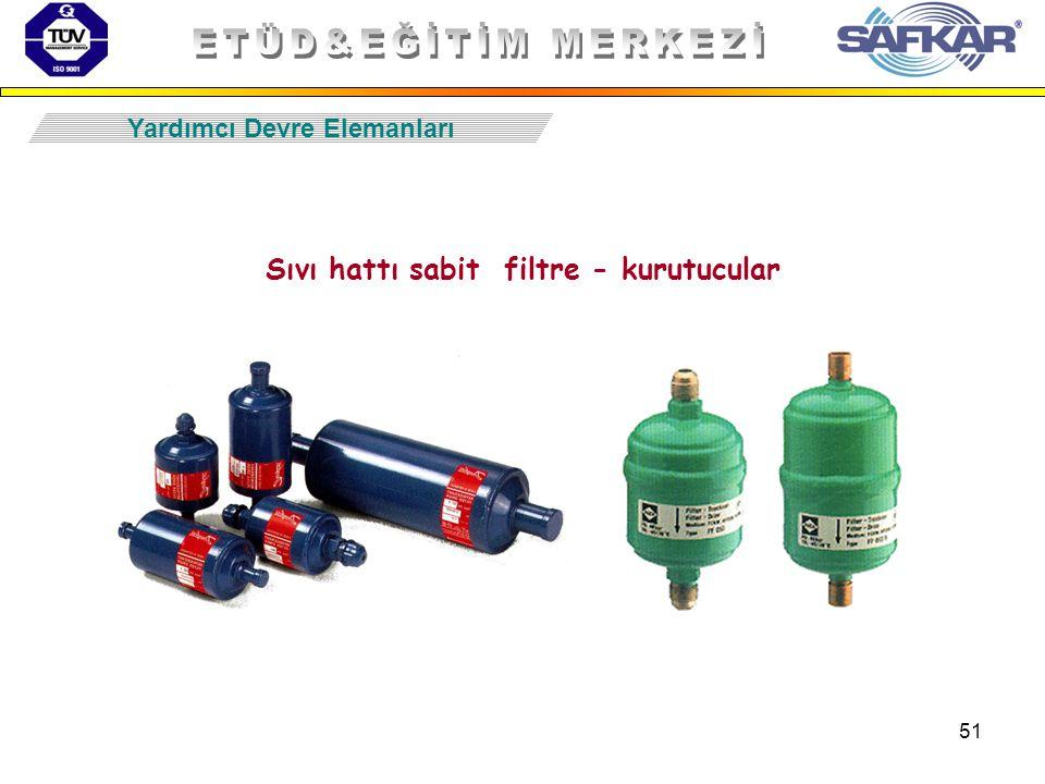 51 Sıvı hattı sabit filtre - kurutucular Yardımcı Devre Elemanları