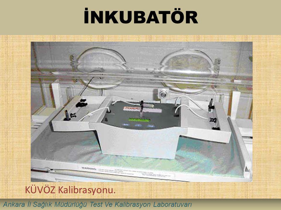 İNKUBATÖR KÜVÖZ Kalibrasyonu. Ankara İl Sağlık Müdürlüğü Test Ve Kalibrasyon Laboratuvarı