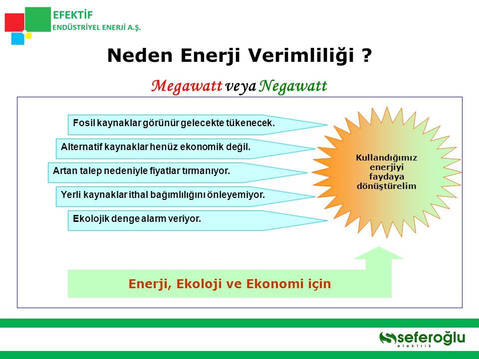 Enerji Verimliliği ile Enerji Çevre El Ele 26 28 30 32 34 36 38 40 42 200720102015202020252030 Gt Referans Senaryo Senaryo 450 3.8 Gt 13.8 Gt Dünya'nın enerji kullanımından kaynaklanan CO 2 emisyon azaltımı senaryosu TKS - 10% Nükleer - 10% YEK & Biyoyakıtlar - 23% Verimlilik - 57% Teknoloji ile Azaltım, 2030 Emisyon sınırı 450 ppm (CO 2 eşdeğeri) Sıcaklık artışını  2 o C ile sınırlandırabilmek tüm bölgelerde büyük miktarlarda ve hızlı emisyon azaltımını gerektiriyor 450 senaryosunda, 2030 a kadar emisyondaki azalmanın çoğunun enerji verimliliğini destekleyen önlemlerle sağlanması için gerekli ilave toplam yatırım miktarı 10,5 trilyon $...