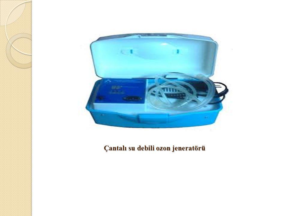 Çantalı su debili ozon jeneratörü Çantalı su debili ozon jeneratörü