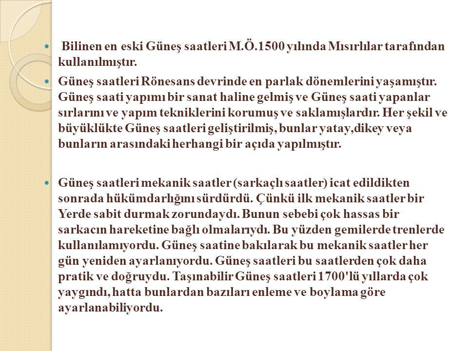 Tanzimata Kadar  Ülkemizde Selçuklular ve Osmanlılar döneminde rasathaneler kurulmuş olmasına rağmen, bunlar daha ziyade astronomik gözlemler yapmışlardır.