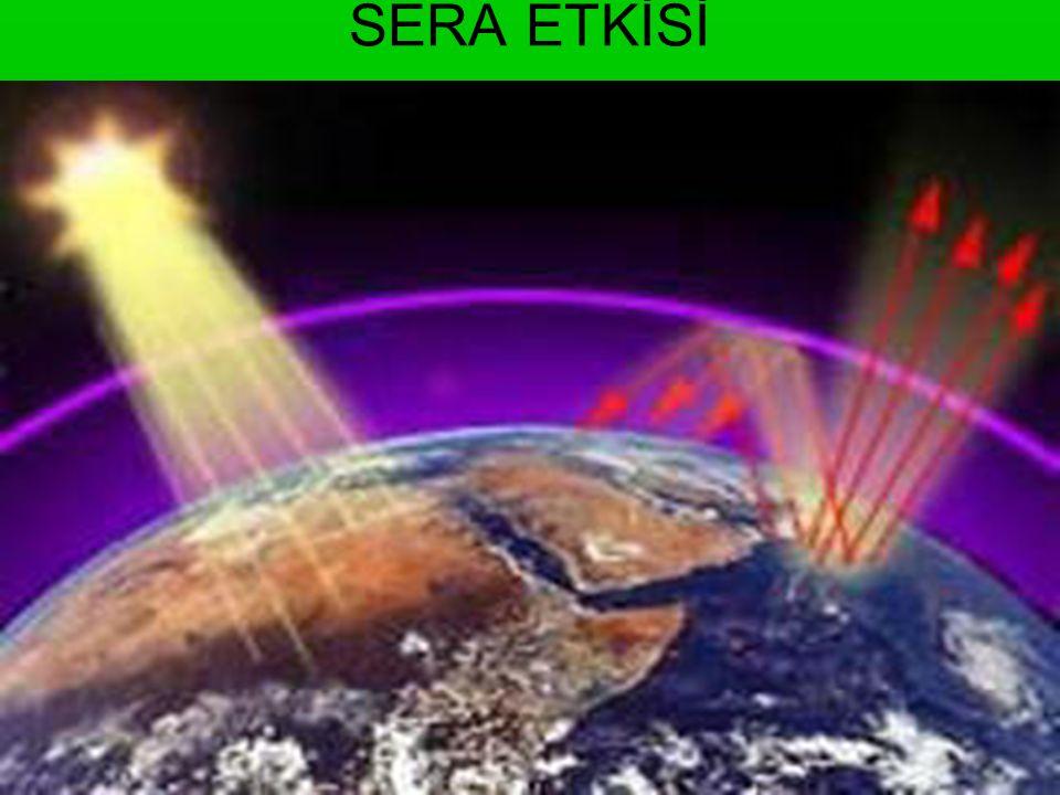 KÜRESEL ISINMANIN TÜRKİYE'YE ETKİLERİ •küresel ısınma aynı şekilde devam ederse, •2070'te Türkiye genelinde sıcaklıklar 6 derece kadar yükselecek.