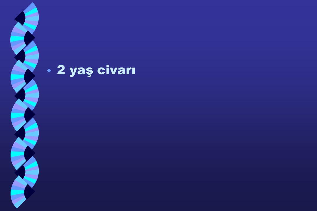 w 2 yaş civarı