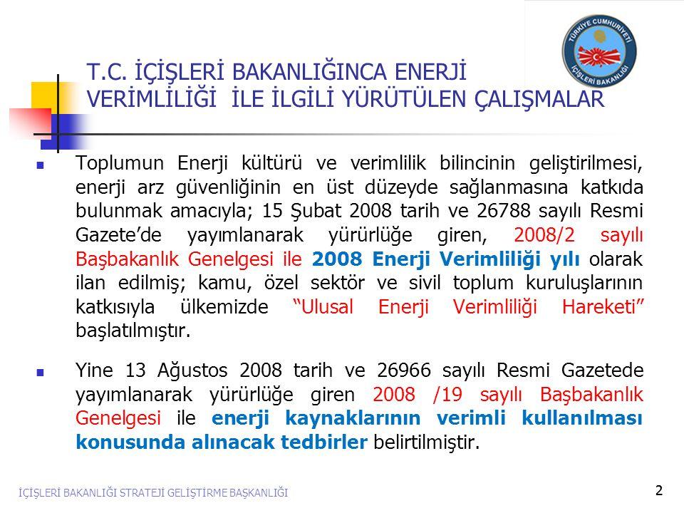 3  Enerji Verimliliği Koordinasyon Kurulu'na katılarak bizleri yönlendiren ve ENVER Hareketine, destek ve yardımlarını esirgemeyen Enerji ve Tabii Kaynaklar eski Bakanı Sayın Dr.