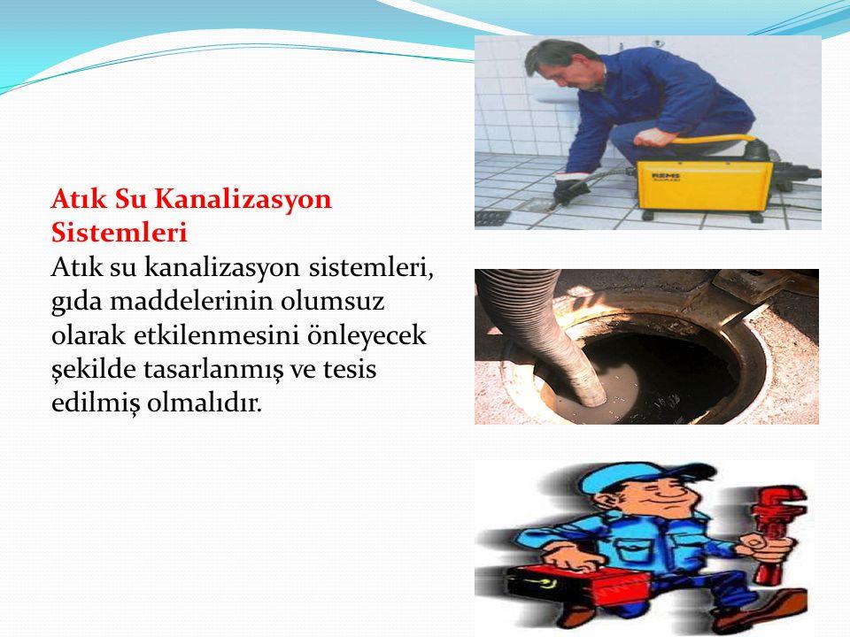 Atık su kanalizasyon sistemleri hijyen gereklilikleri-MADDE 12  a) Atık su sisteminin istenilen amaca uygun olması gerekir. BULAŞMA RİSKİNİ ORTADAN K