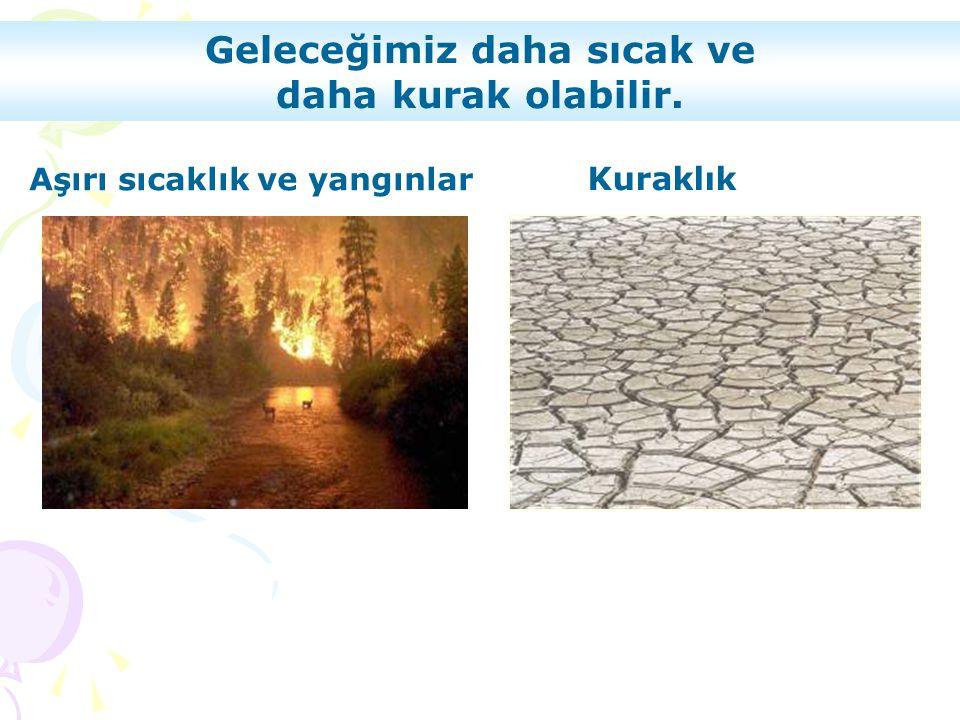 Geleceğimiz daha sıcak ve daha kurak olabilir. Kuraklık Aşırı sıcaklık ve yangınlar