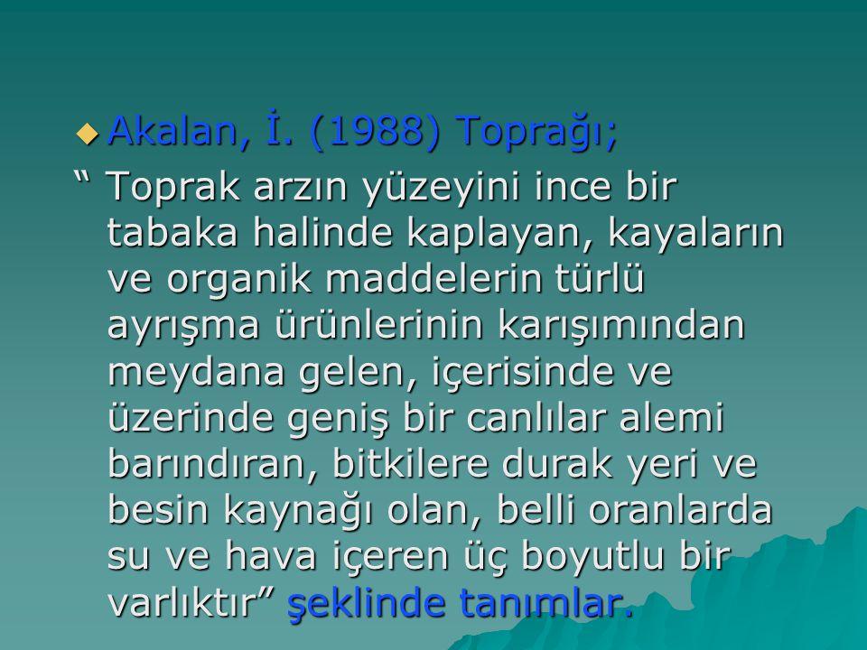  Akalan, İ.
