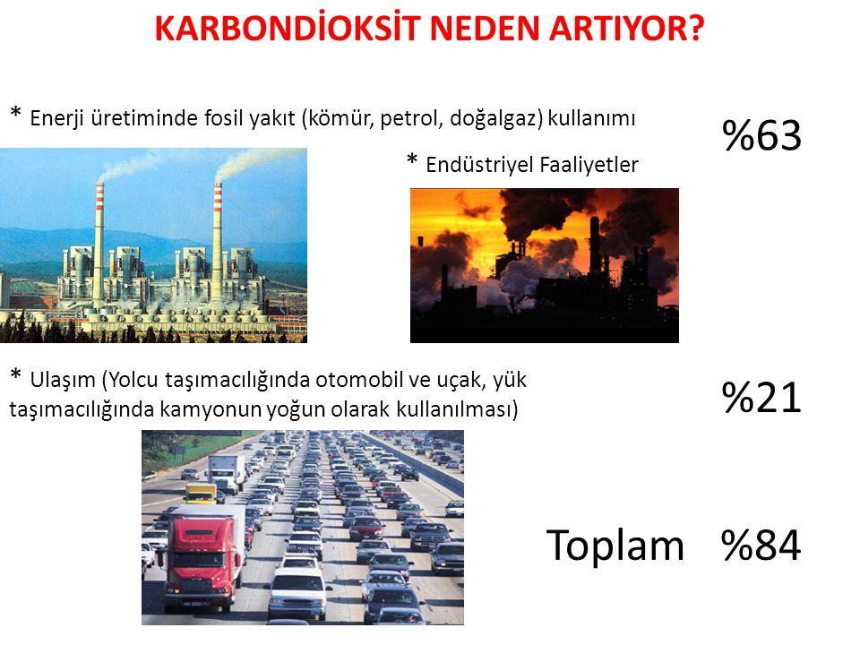 KARBONDİOKSİT NEDEN ARTIYOR.