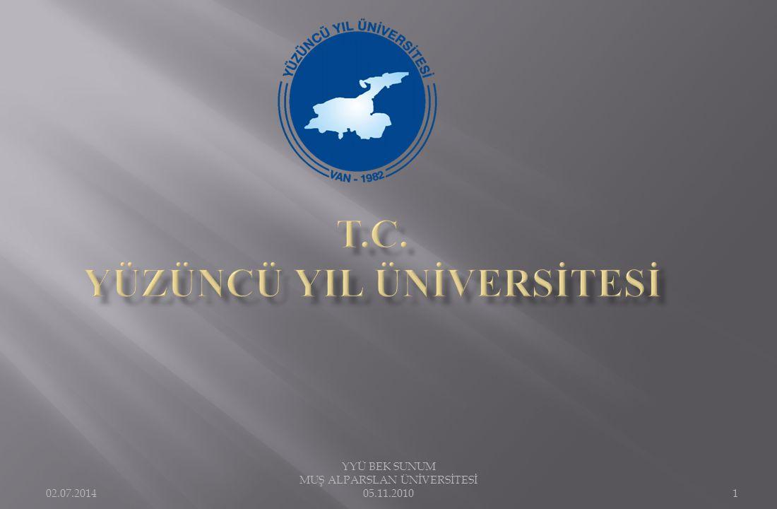 YYÜ WEB sayfasında http://bologna.yyu.edu.tr adresine tüm eğitim aşamalarındaki sunumları, YÖK Bologna Eşgüdüm Komisyonu tarafından verilen eğitim sunu ve dokümanları aktardık.