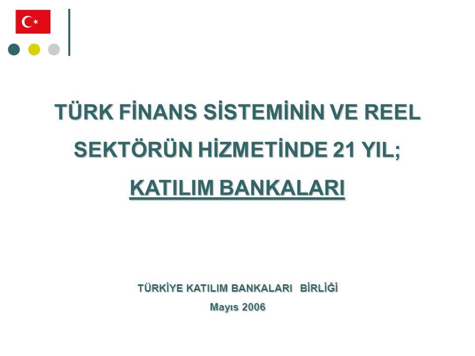TÜRK BANKACILIK SİSTEMİ Kalkınma Ve Yatırım Bankaları Ticari Bankalar Katılım Bankaları
