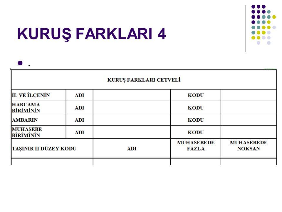 KURUŞ FARKLARI 4 ..