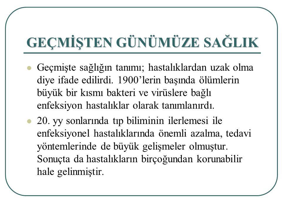 TÜRKİYE'DE ÖLÜM SEBEBİ VE ORANLARI NELERDİR.