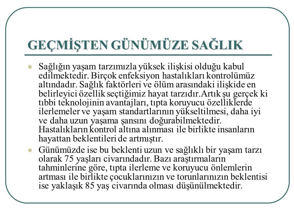 Kalp ve Dolaşım Sistemi Rahatsızlıkları Sebepleri Türkiye'deki ölüm sebeplerinin başında kalp ve dolaşım sistemi rahatsızlıkları gelmesinde en önemli etkenler olarak aşağıdaki sebepleri sayabiliriz:  Halkın hastalıklara karşı bilinçli bir eğitimi yok,  Ekonomik sebeplerden dolayı ucuz ve kalitesiz yiyecekler tercih edilmekte,  Beslenmede bilinçlilik yok, kötü beslenme alışkanlıklarına sahipler  Çocukluk çağından itibaren hareketsiz ve stresli bir hayat tarzı anlayış hakimdir.