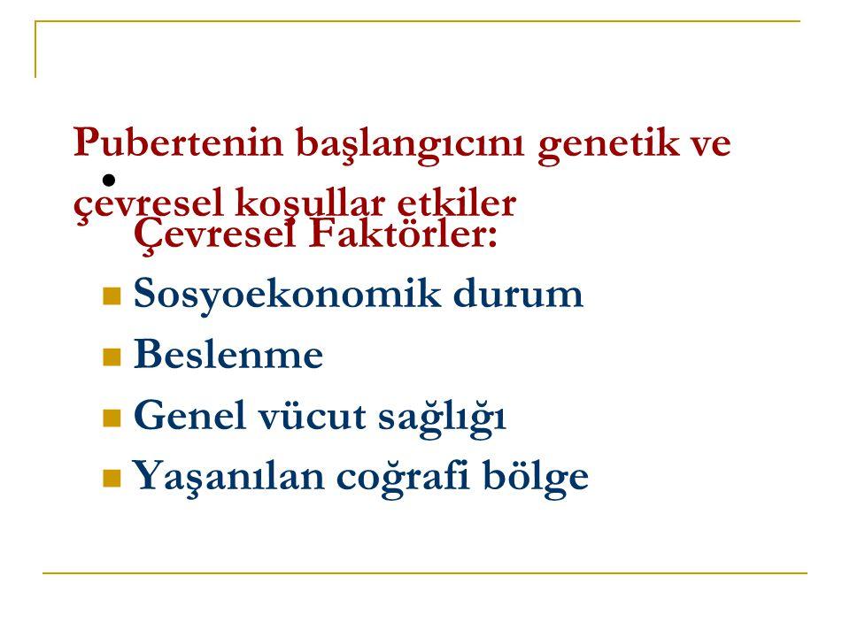 GECİKMİŞ PUBERTE NEDENLERİ-II  Hipergonadotropik hipogonadizm A.