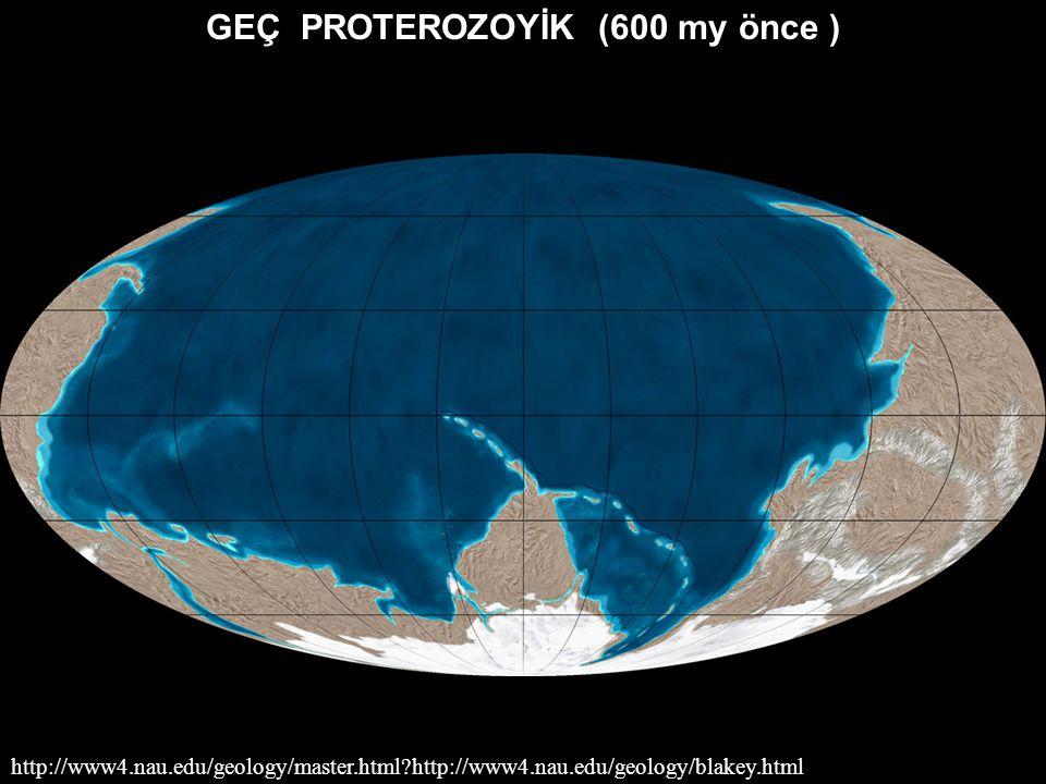 Geçmişten- Günümüze Dünya'nın coğrafyası nasıl değişti ? Son 600 milyon yıl