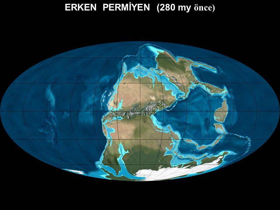 GEÇ KARBONİFER (300 my önce)