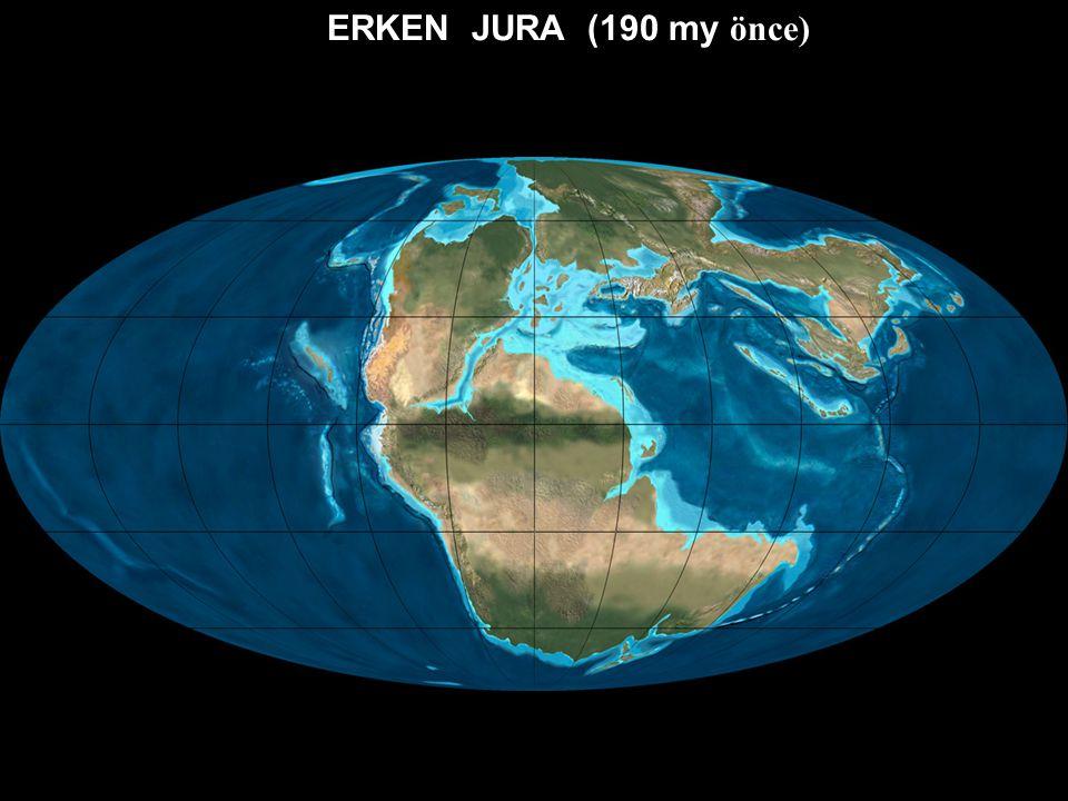 GEÇ TRİYAS (220 my önce)