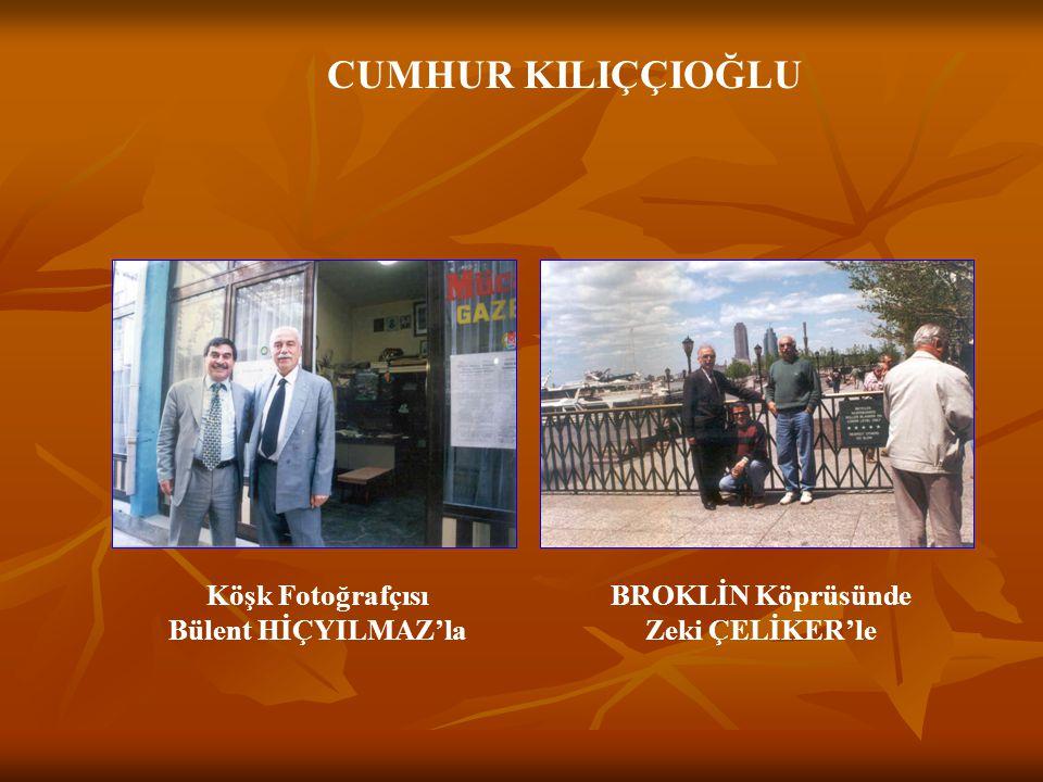 CUMHUR KILIÇÇIOĞLU ERZURUM KONGRESİNDE BİK Genel Müdürü Gültekin SAMANCI'yla