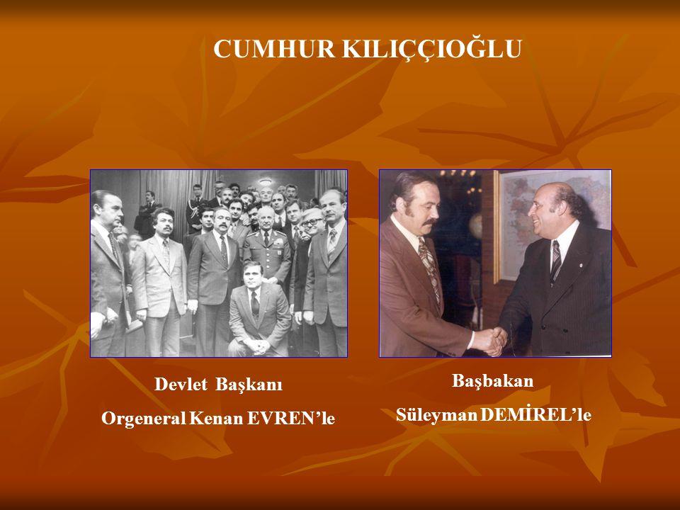 CUMHUR KILIÇÇIOĞLU Dr.Ekrem BİLEK'leM.Selim ÖZALP'la BELEDİYE BAŞKANLARI Mahmut ÇALAPKULU'yla