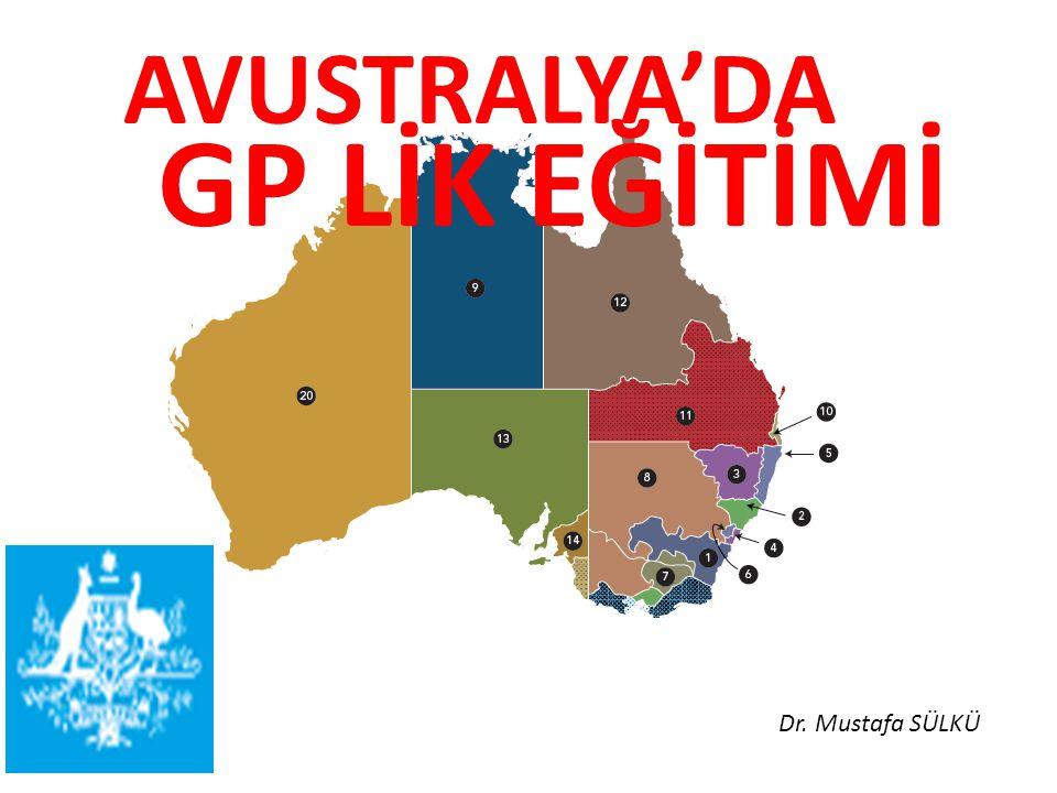 24000 üzerinde GP kalite değerlendirmesi ve sürekli mesleki gelişim(CPD) sürdürülmesi programlarına katılmakta, En büyük CPD programı Avustralya' da yapılmaktadır..