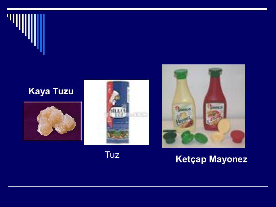 Kaya Tuzu Ketçap Mayonez Tuz