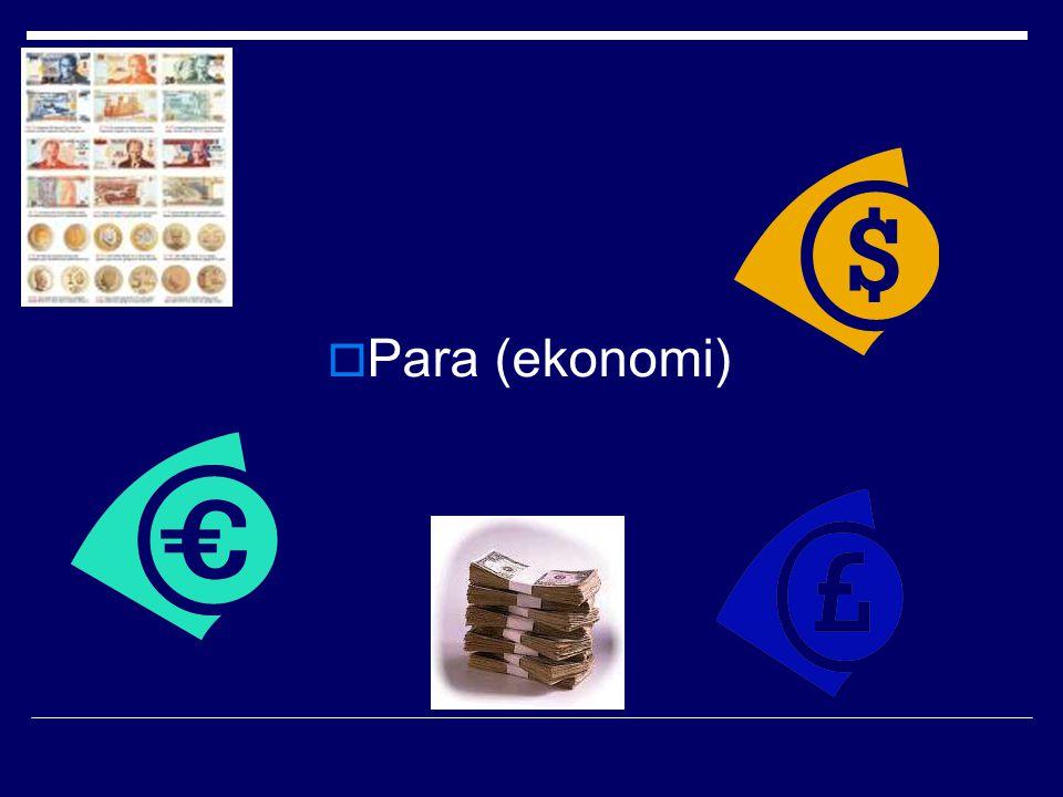  Para (ekonomi)
