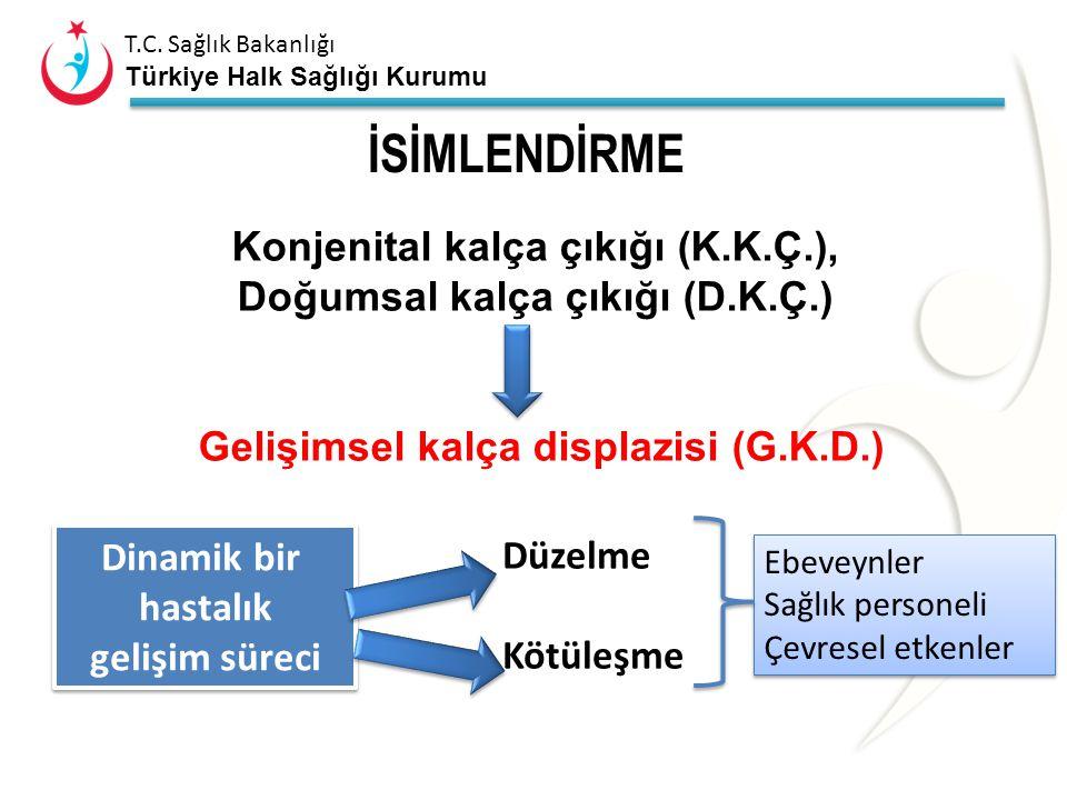 T.C. Sağlık Bakanlığı Türkiye Halk Sağlığı Kurumu Eklemdeki Etkilenim erken bozunma (artroz)
