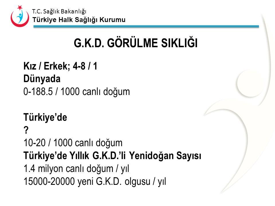 T.C.Sağlık Bakanlığı Türkiye Halk Sağlığı Kurumu G.K.D.