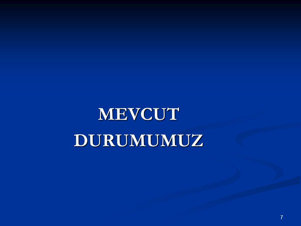 7 MEVCUTDURUMUMUZ