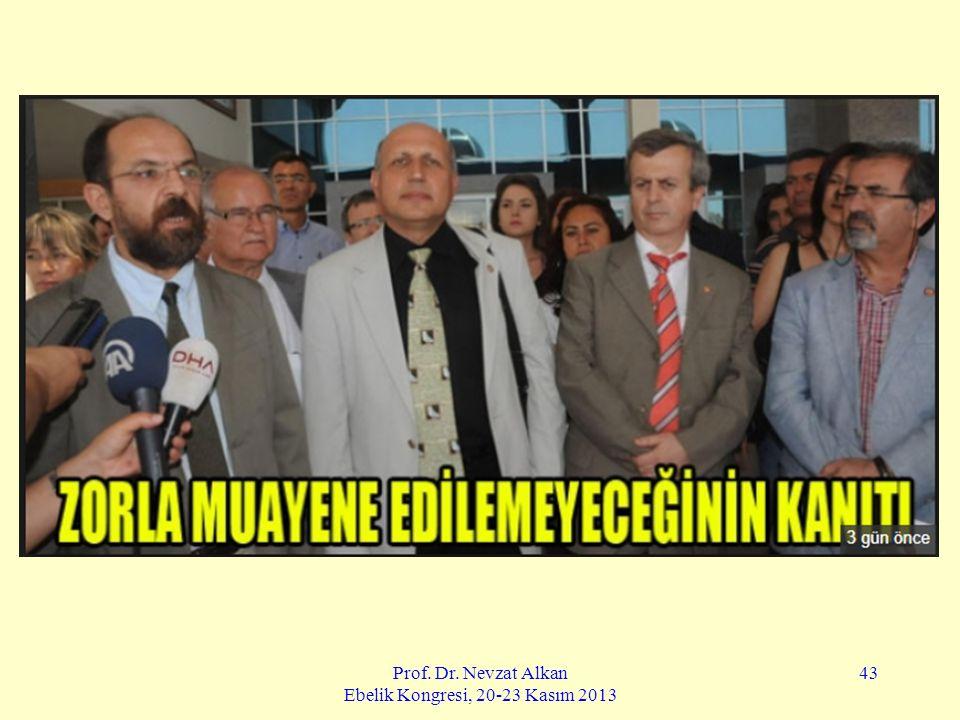 Prof. Dr. Nevzat Alkan Ebelik Kongresi, 20-23 Kasım 2013 43