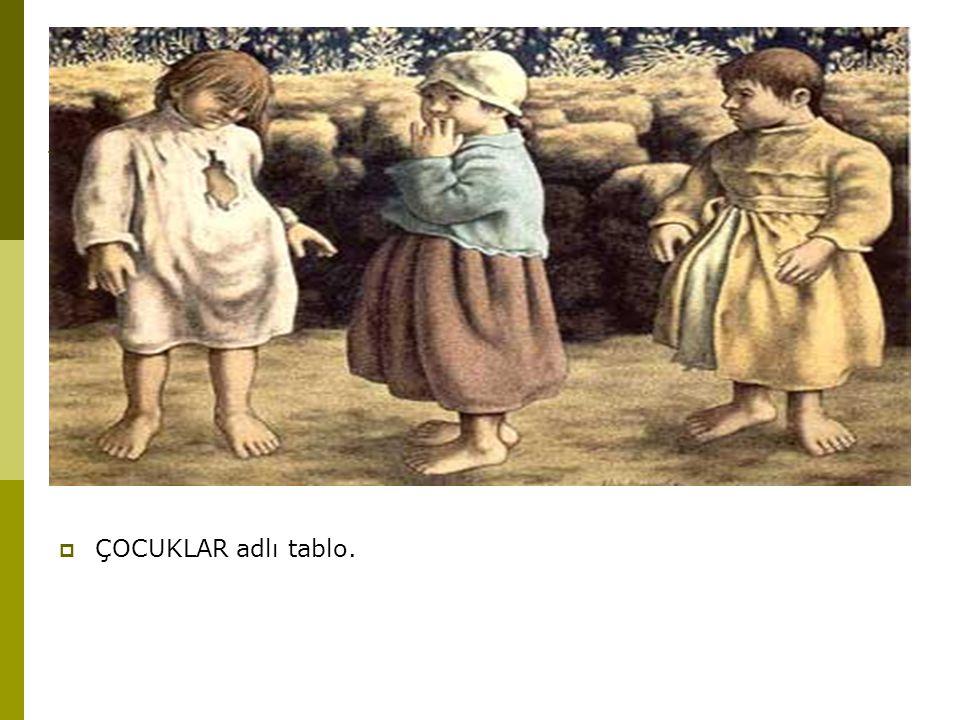  ÇOCUKLAR adlı tablo.