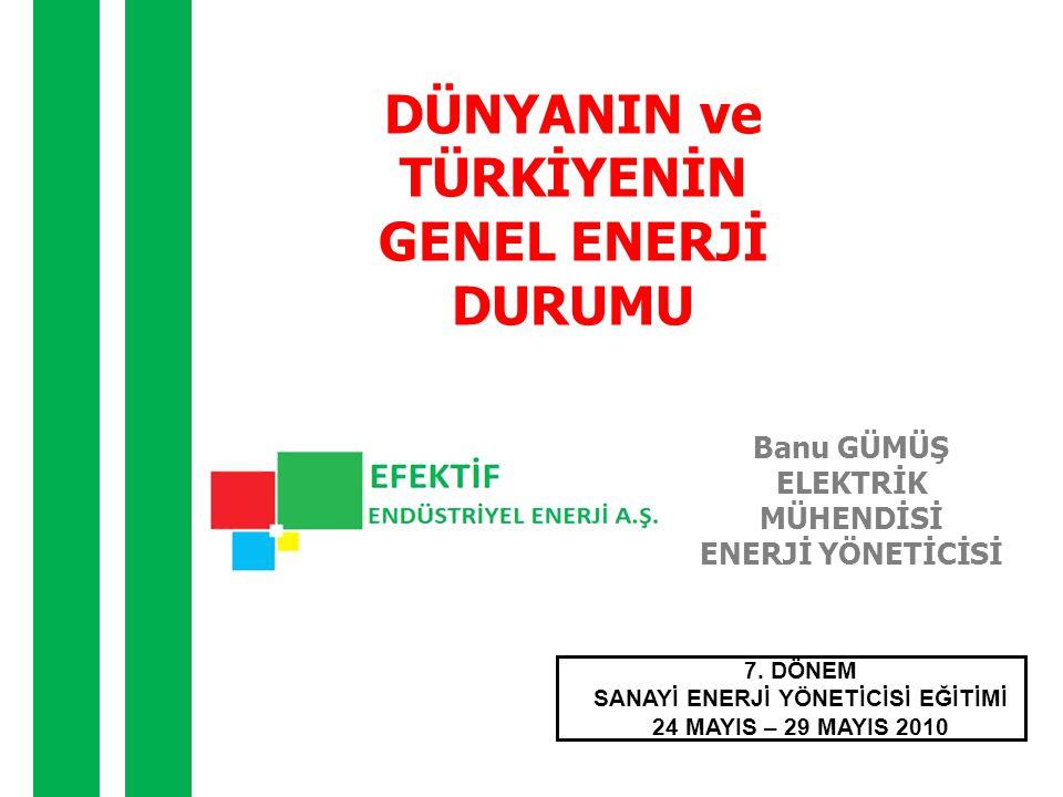 TÜRKİYE'NİN DÜNYA'YA GÖRE DURUMU • Türkiye'nin hidroelektrik enerji potansiyeli, dünya toplam potansiyelinin yüzde 1'i, Avrupa toplam potansiyelinin ise yüzde 16'sı civarındadır.