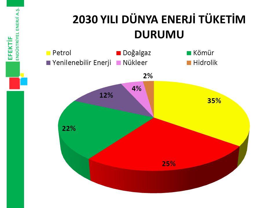 JEOTERMAL • Sıcaklığı yer yer 100 °C ye varan 600 den fazla sıcak su kaynağının varlığı Türkiye nin önemli bir jeotermal enerji potansiyeli taşıdığını göstermektedir.