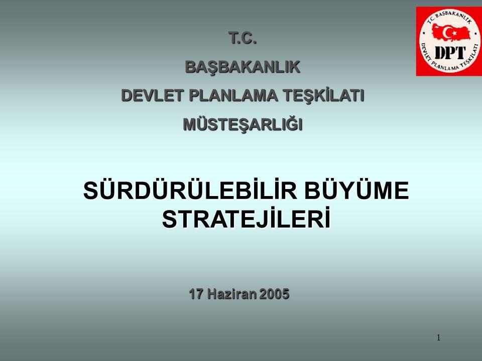 2 •Türkiye'de iktisadi büyüme kolay bir süreç olarak algılanmaktadır : –Büyüme sadece iktisadi bir olay değildir, –Diğer disiplinler, davranışlar, kurumsal kapasite, incentives .