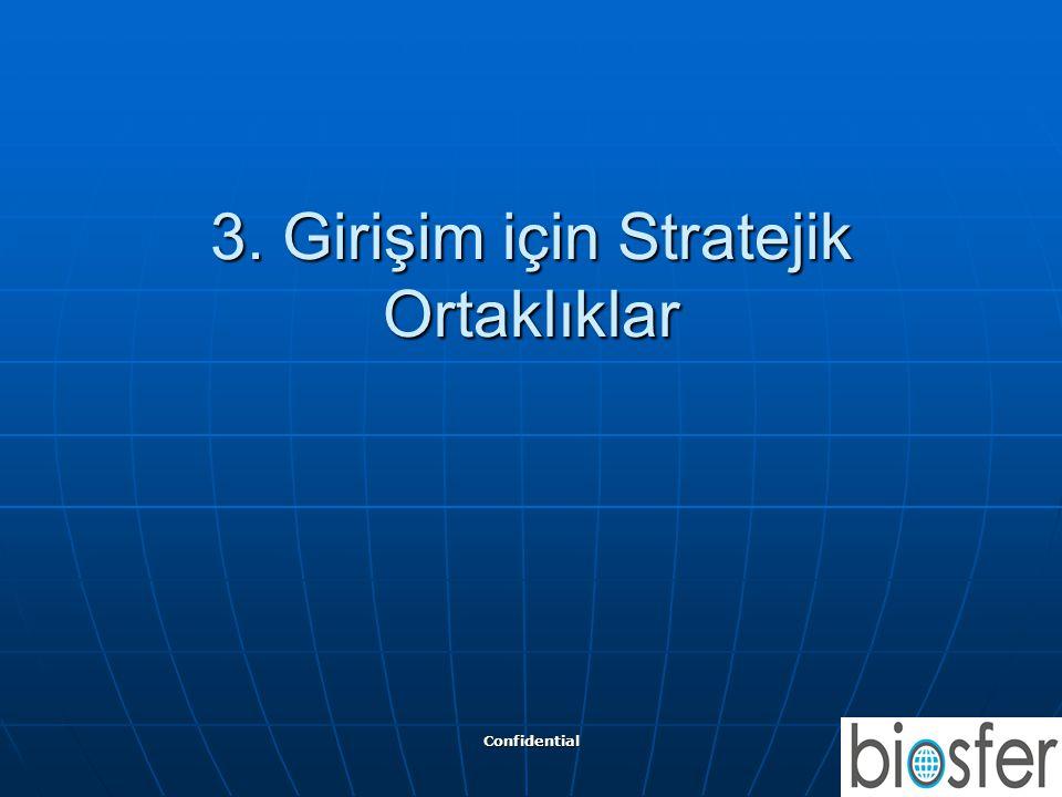 Confidential 12 3. Girişim için Stratejik Ortaklıklar