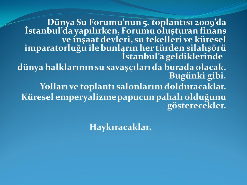 Dünya Su Forumu'nun 5.