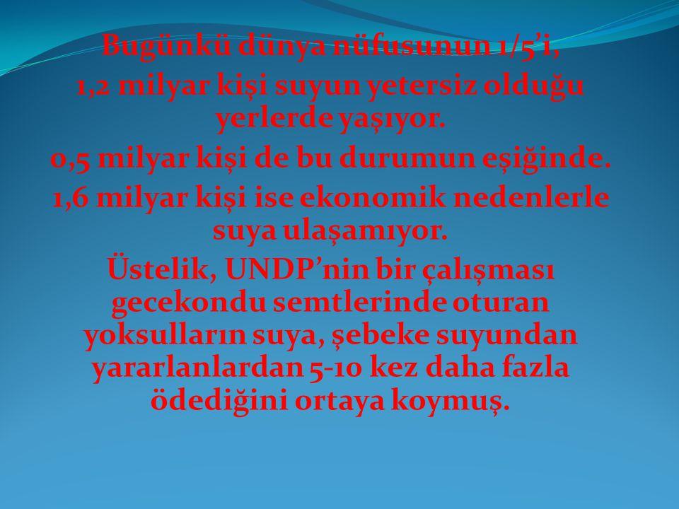 İşte, sınıfsal mevzilenmeler gelişip, emperyalizmin Türkiye'ye müdahalesiyle işbirlikçi burjuvazi palazlanmaya başlarken, 1950'den sonra Türkiye'de su hukukunda da önemli dönüşümler yaşandı.