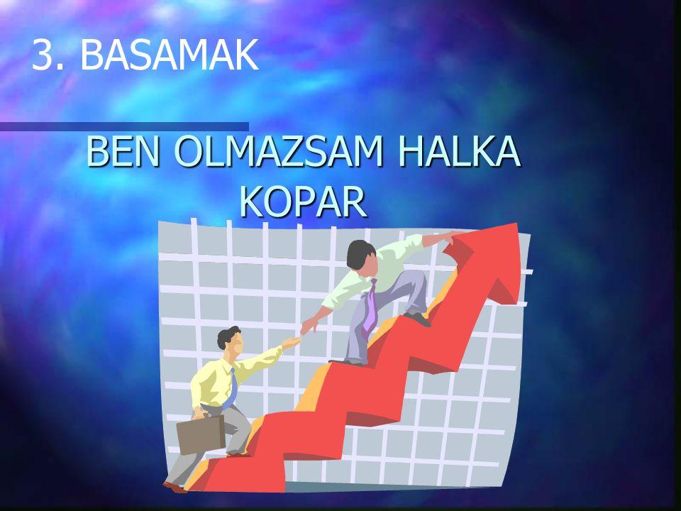 BEN OLMAZSAM HALKA KOPAR 3. BASAMAK